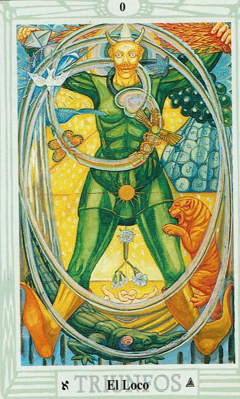 00 - El Loco - Tarot Crowley