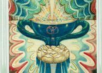 As de Copas del Tarot Thoth