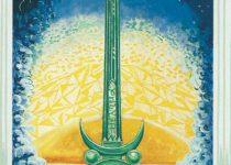 As de Espadas del Tarot Thoth