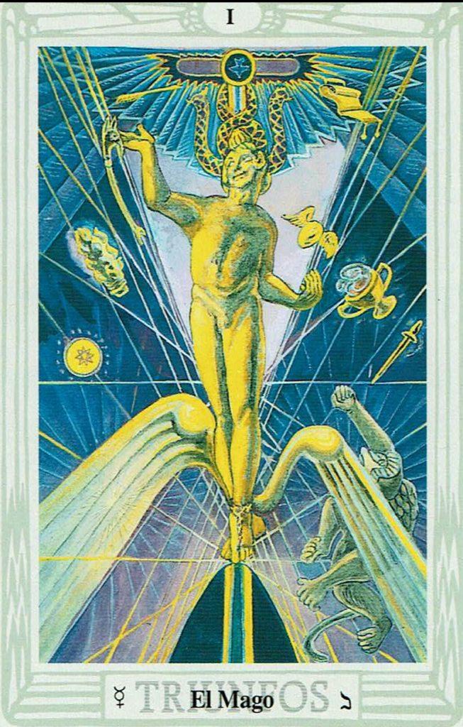 01 - El mago del Tarot Thoth
