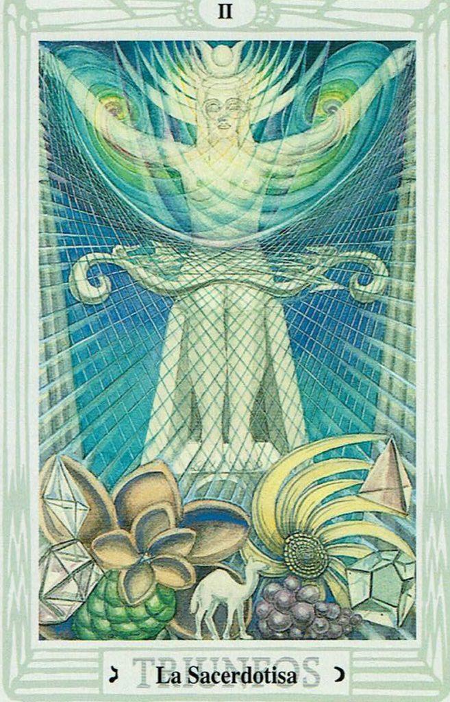 Suma Sacerdotisa del Tarot Thoth