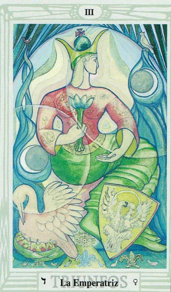 La Emperatriz del Tarot Thoth