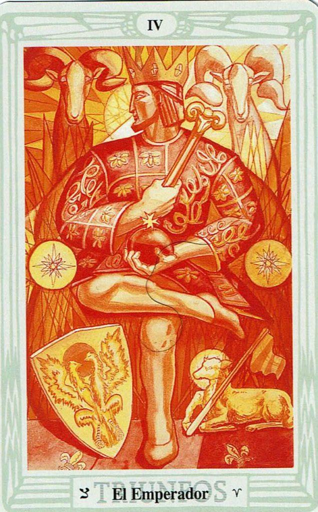 El Emperador del Tarot Thoth