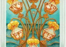 Seis de Copas del Tarot Thoth