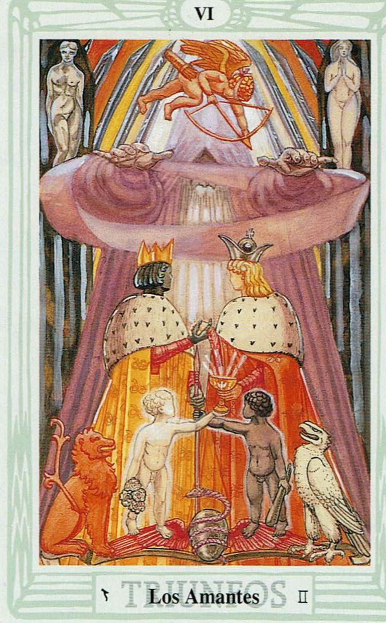 los Amantes del Tarot Thoth