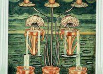 Ocho de Copas del Tarot Thoth