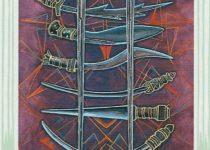 Ocho de Espadas del Tarot Thoth