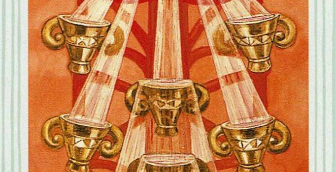 Diez de Copas del Tarot Thoth