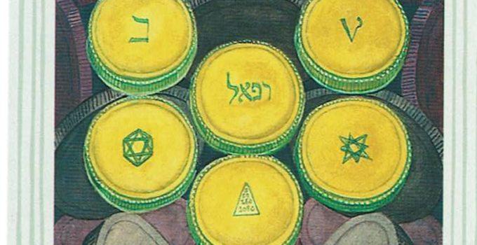 Diez de Oros del Tarot Thoth
