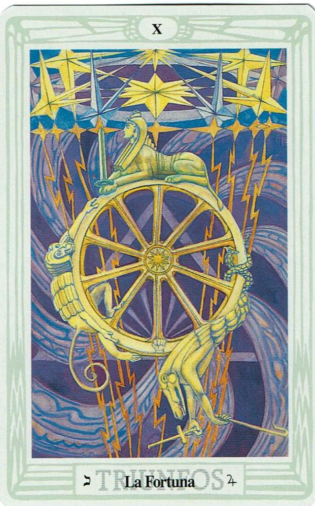 La Rueda de la Fortuna del Tarot Thoth