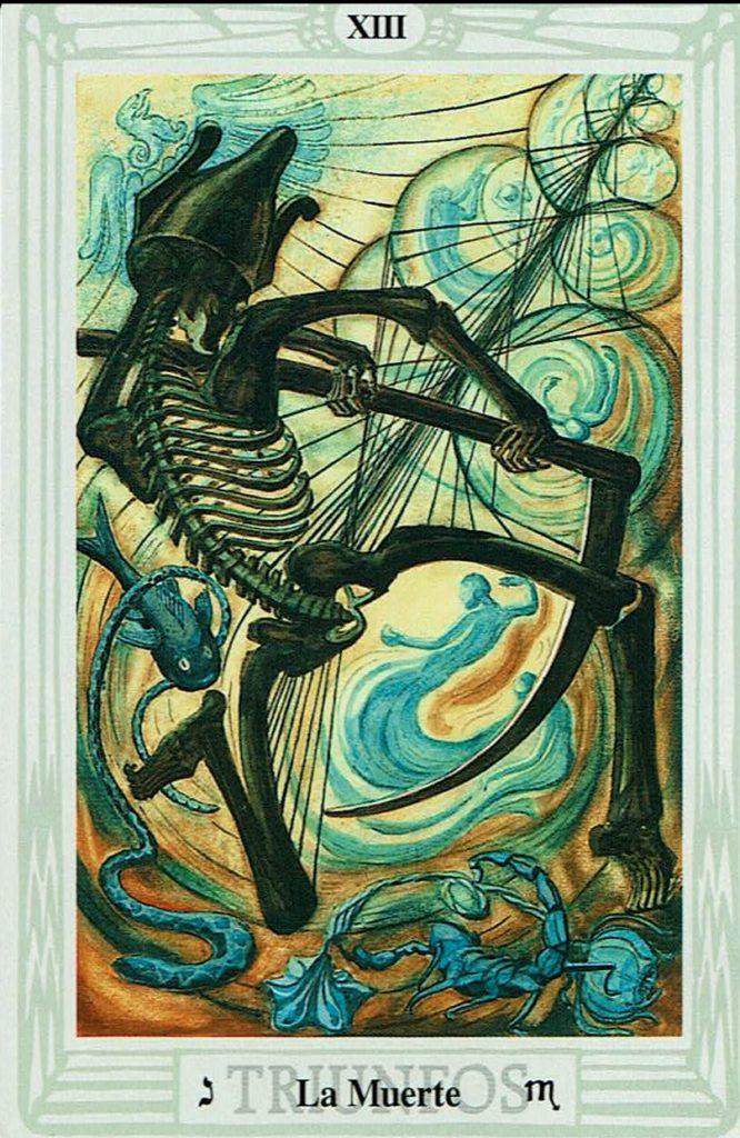 La Muerte del Tarot Thoth