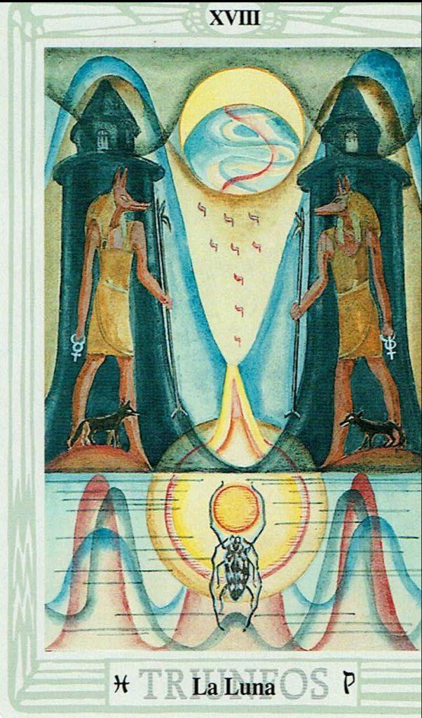 La Luna del Tarot Thoth
