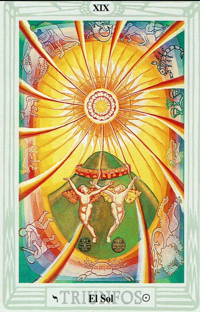 El Sol del Tarot Thoth