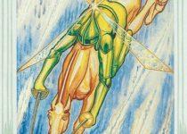 caballero de Espadas del Tarot Thoth