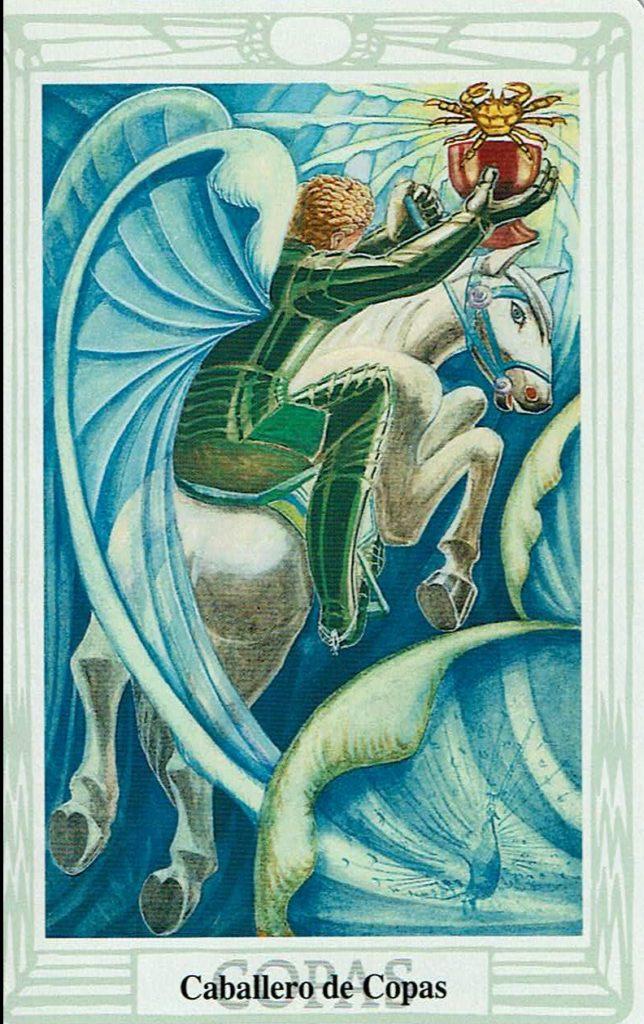 Caballero de Copas del Tarot Thoth