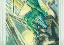 Princesa de Espadas del Tarot Thoth