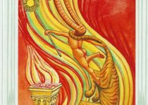 Princesa de Bastos del Tarot Thoth