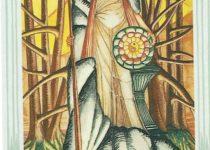 Princesa de Oros del Tarot Thoth