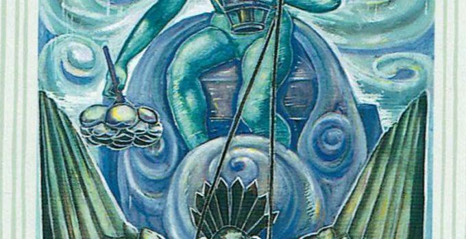 Príncipe de Copas del Tarot Thoth