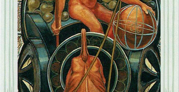 Príncipe de Oros del Tarot Thoth