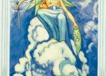 Reina de Espadas del Tarot Thoth
