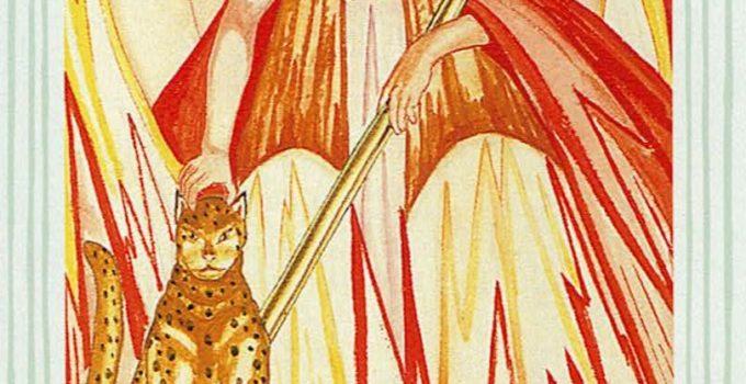 Reina de Bastos del Tarot Thoth